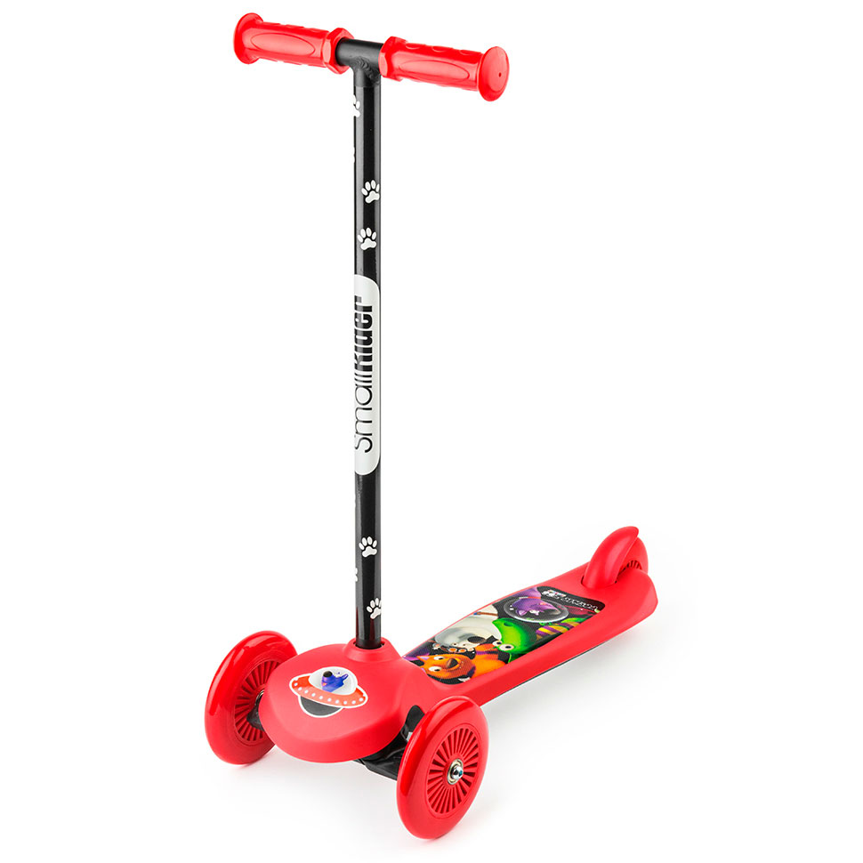 Самокат Small Rider Cosmic Zoo Scooter Red цена