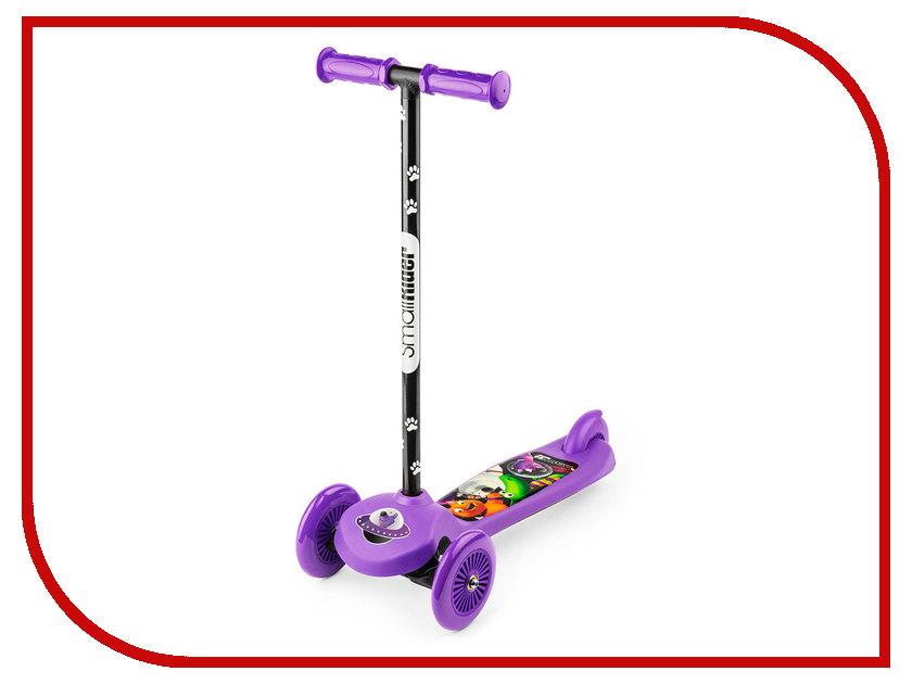 Самокат Small Rider Cosmic Zoo Scooter Purple