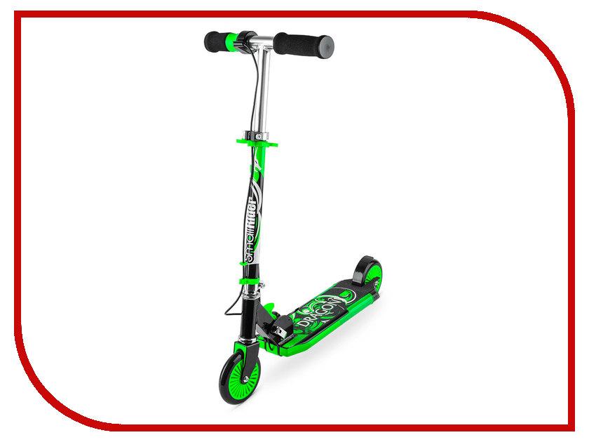 Самокат Small Rider Dragon Green<br>
