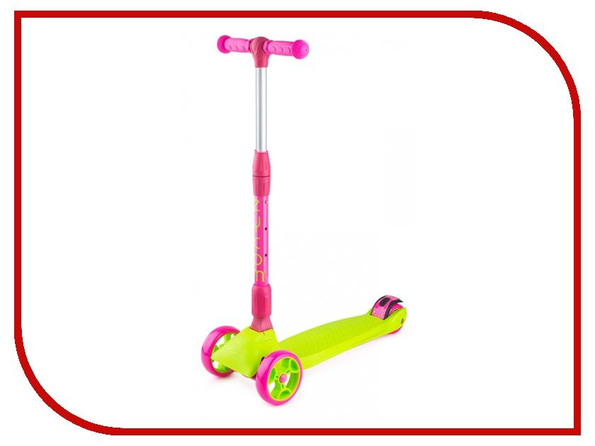 Самокат Zycom Zinger Maxi XL Pink-Lime регенерирующее масло для лица авения 20 мл saloos