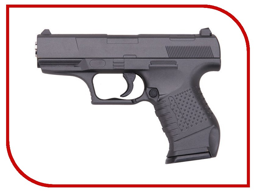 Страйкбольный пистолет Galaxy G.19 Walther P99 стоимость