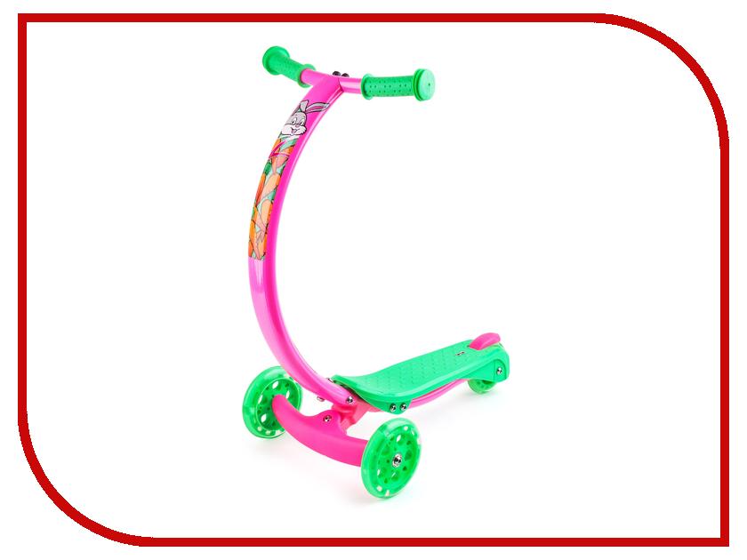 Самокат Zycom Zipster зайчик со светящимися колесами