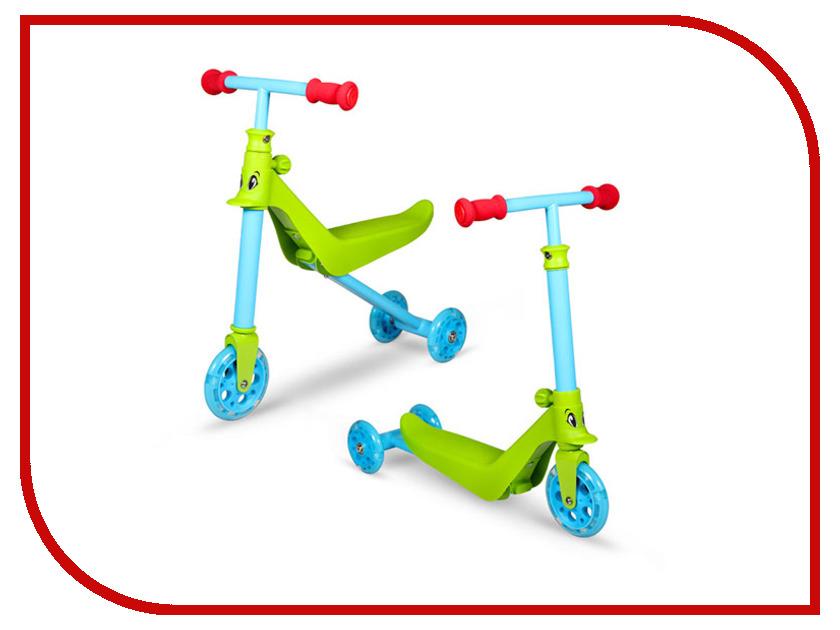 Беговел Zycom Zykster 2 in 1 Green-Blue-Red zycom беговел детский zbike цвет белый синий
