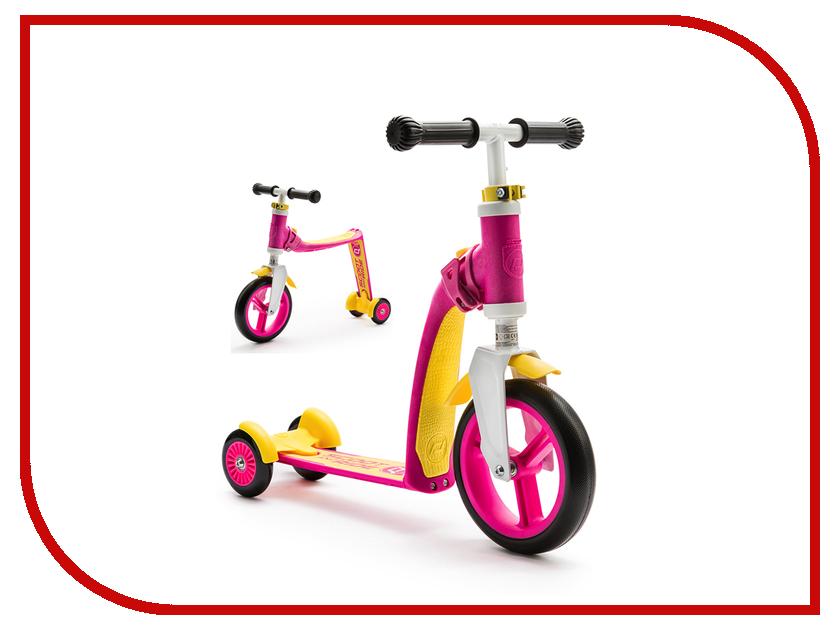 Самокат Scoot&amp;Ride Highway Freak 2016 New White-Pink-Yellow<br>