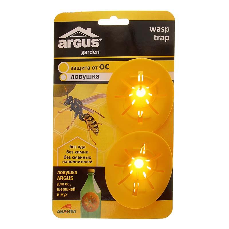 Средство защиты от ос ARGUS Garden 1111690 - ловушка средство защиты argus 147425 клеевая ловушка