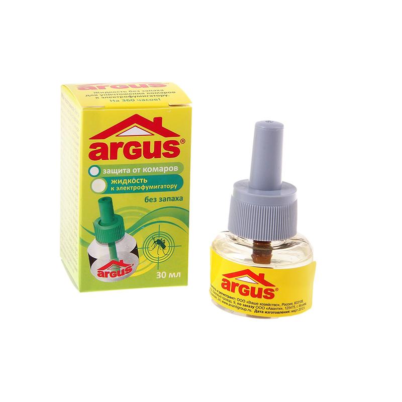 Средство защиты от комаров ARGUS 45 ночей 724270 - жидкость