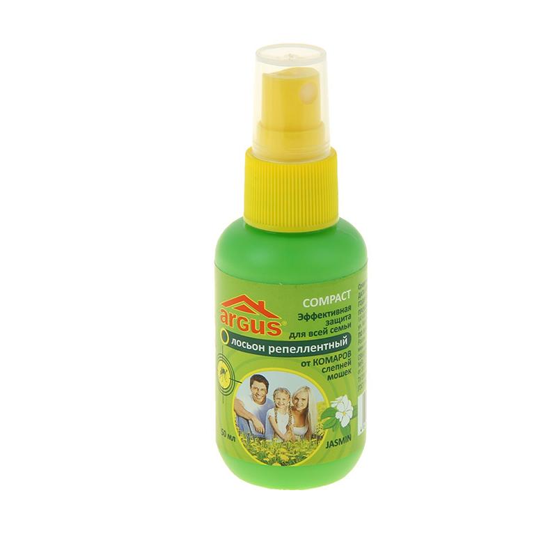 Средство защиты от комаров ARGUS 50ml 198311 - лосьон средство защиты argus 147425 клеевая ловушка