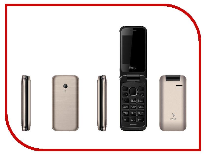 все цены на  Сотовый телефон Jinga Simple F510 Gold  онлайн