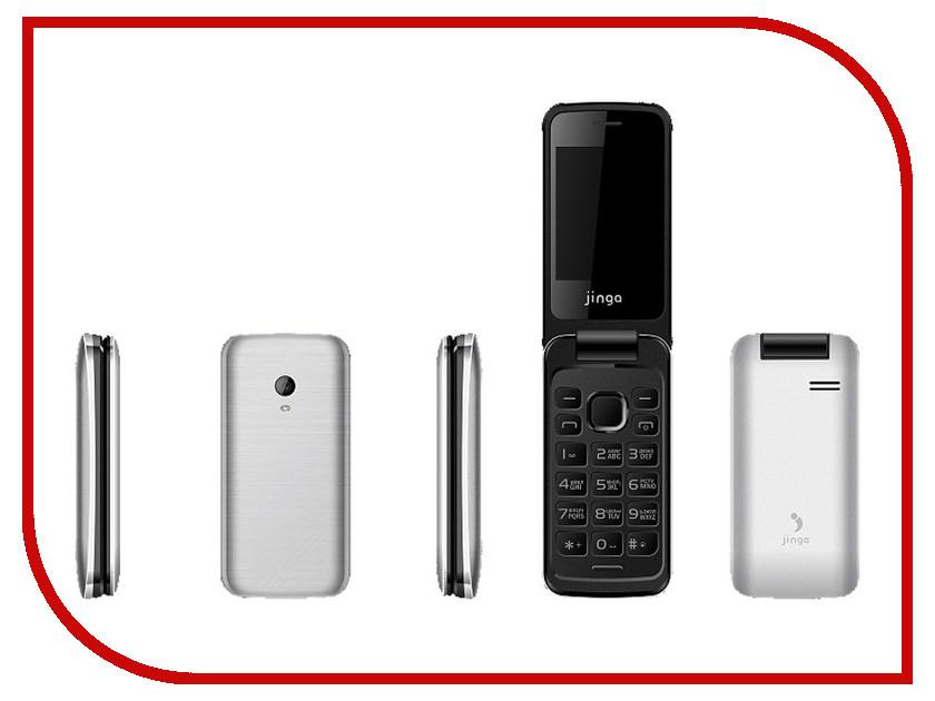 где купить  Сотовый телефон Jinga Simple F510 White  дешево