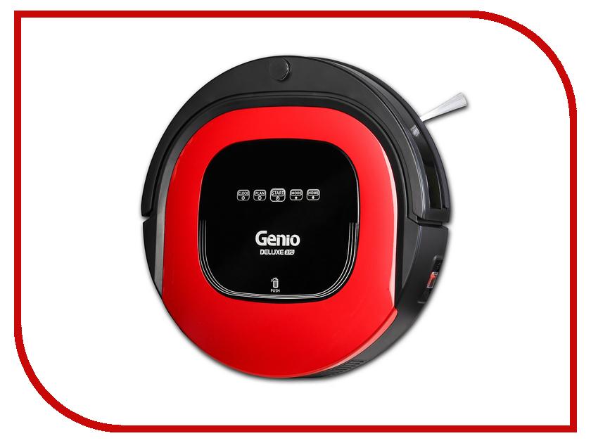 Пылесос-робот Genio Deluxe 370 Red наволочки декоративные рапира декоративная шёлковая наволочка встреча на пруду 33х33 см