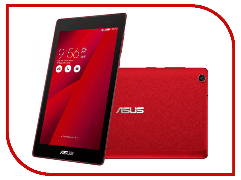 Планшет ASUS ZenPad C 7.0 Z170CG-1C064A Red 90NP01Y3-M03530 (Intel Atom x3 C3230RK 1.2 GHz/1024Mb/8Gb/Wi-Fi/3G/Bluetooth/Cam/7.0/1024x600/Android)