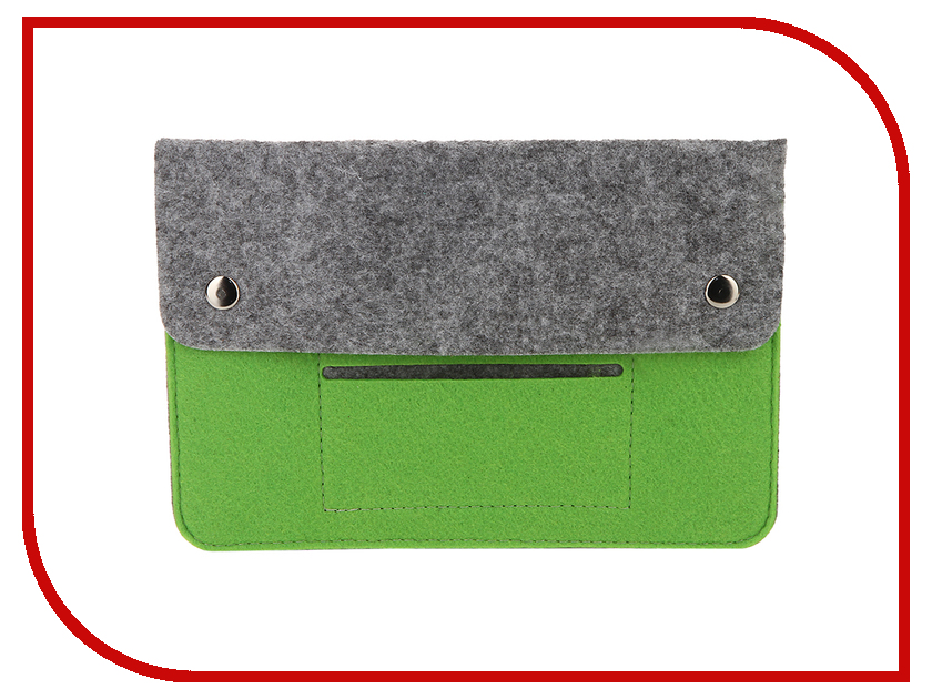 Аксессуар Чехол 8-inch IQ Format Grey-Green