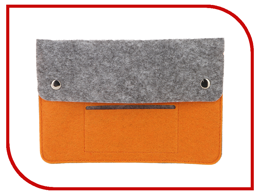Аксессуар Чехол 8-inch IQ Format Grey-orange