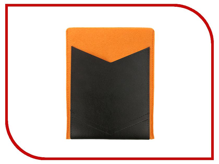 Аксессуар Чехол 8-inch IQ Format с кожаным карманом Orange-Black