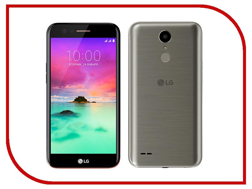 Сотовый телефон LG M250 K10 (2017) Titan lg k10 tpu transparent