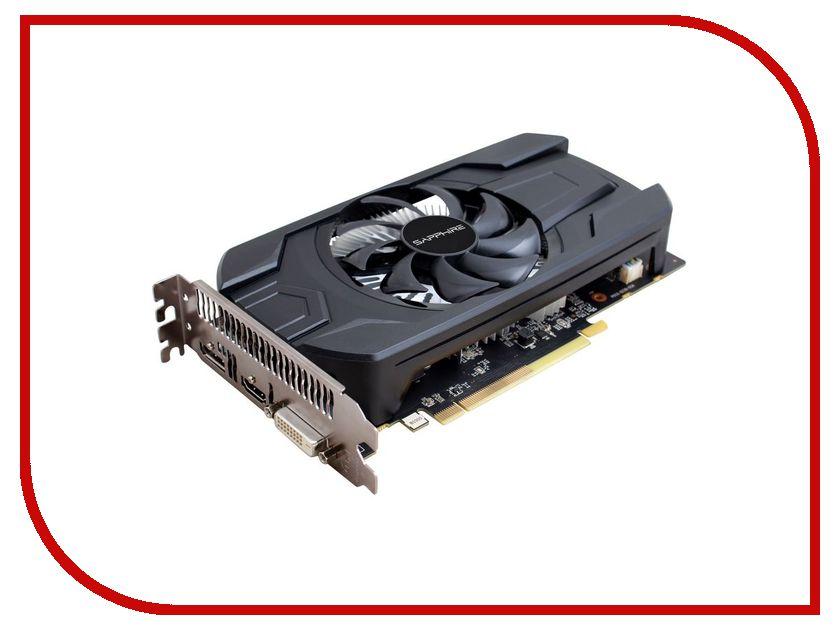 Видеокарта Sapphire Radeon RX 460 2G 1090Mhz PCI-E 3.0 2048Mb 7000Mhz 128 bit DVI HDMI 11257-10-20G