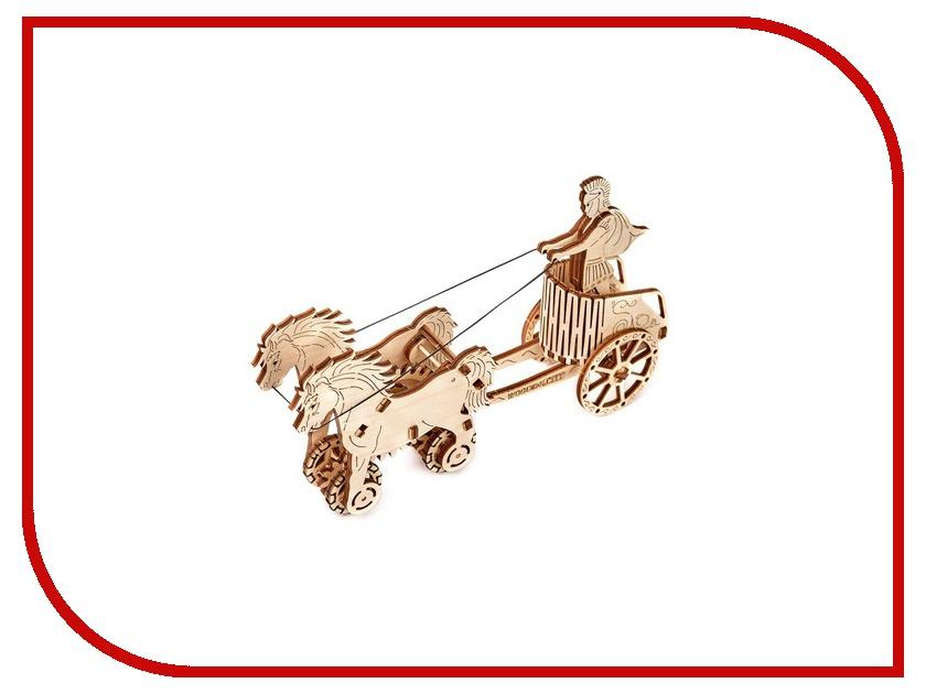 Конструктор Wooden City Римская колесница 69 дет. WR301 пуф wooden круглый белый