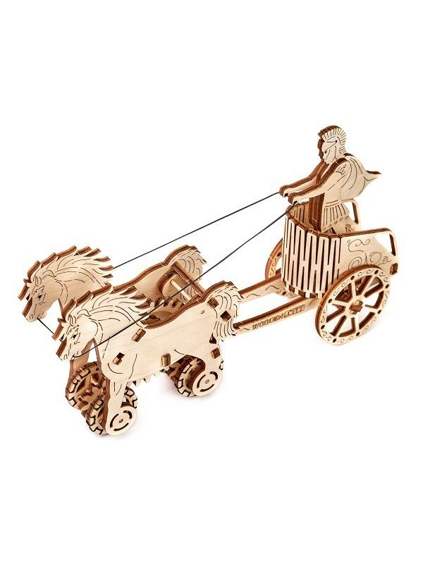 Сборная модель Wooden City Римская колесница 69 дет. WR301