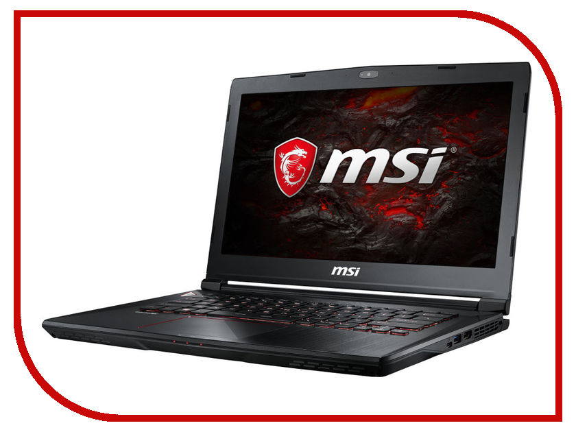 Ноутбук MSI GS43VR 7RE-202XRU 9S7-14A332-202 (Intel Core i5-7300HQ 2.5 GHz/16384Mb/1000Gb/nVidia GeForce GTX 1060 6144Mb/Wi-Fi/Cam/14.0/1920x1080/DOS) ноутбук msi gs43vr 7re phantom pro 094ru 14 intel core i5 7300hq 2 5ггц 16гб 1000гб 128гб ssd nvidia geforce gtx 1060 6144 мб windows 10 черный [9s7 14a332 094]