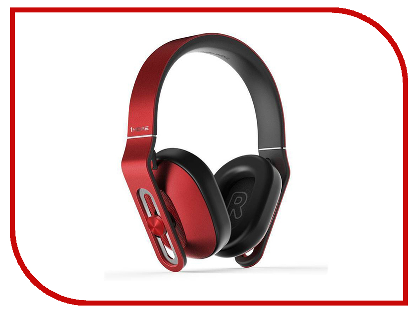 Гарнитура Xiaomi 1More MK802 Bluetooth Over-Ear Red гарнитура xiaomi 1more e1001 l triple driver lightning in ear headphones gold