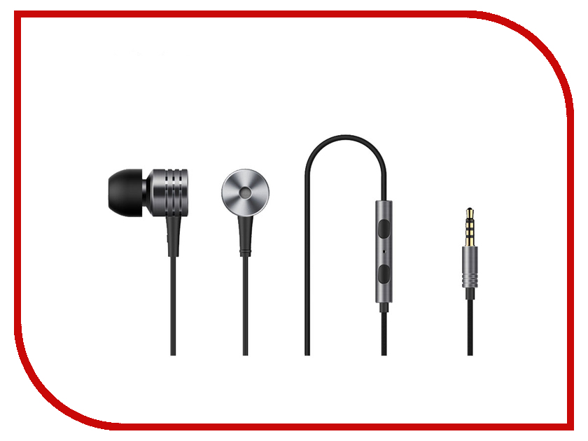 Xiaomi 1More E1003 Piston Classic In-Ear Space Grey 1more piston fit in ear headphones classic earphones with mic for ios and android