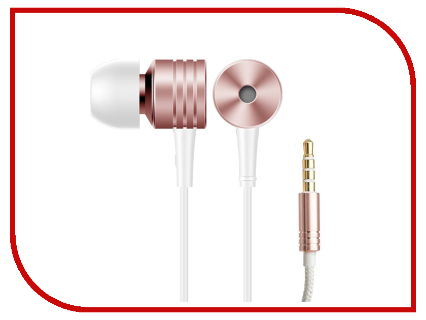 Xiaomi 1More E1003 Piston Classic In-Ear Rose Gold 1more piston fit in ear headphones classic earphones with mic for ios and android
