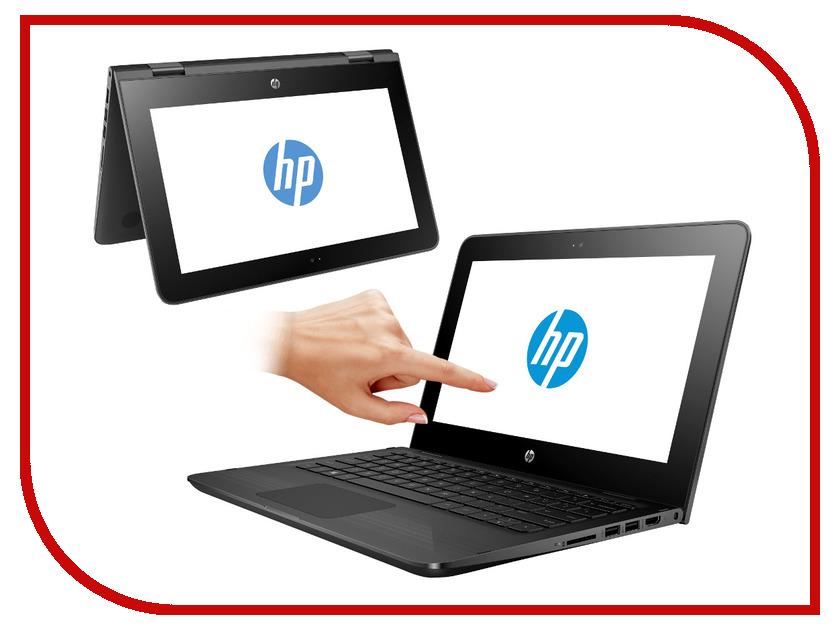 Ноутбук HP x360 11-ab012ur 1JL49EA (Intel Pentium N3710 1.6 GHz/4096Mb/500Gb/No ODD/Intel HD Graphics/Wi-Fi/Bluetooth/Cam/11.6/1366x768/Touchscreen/Windows 10 64-bit)