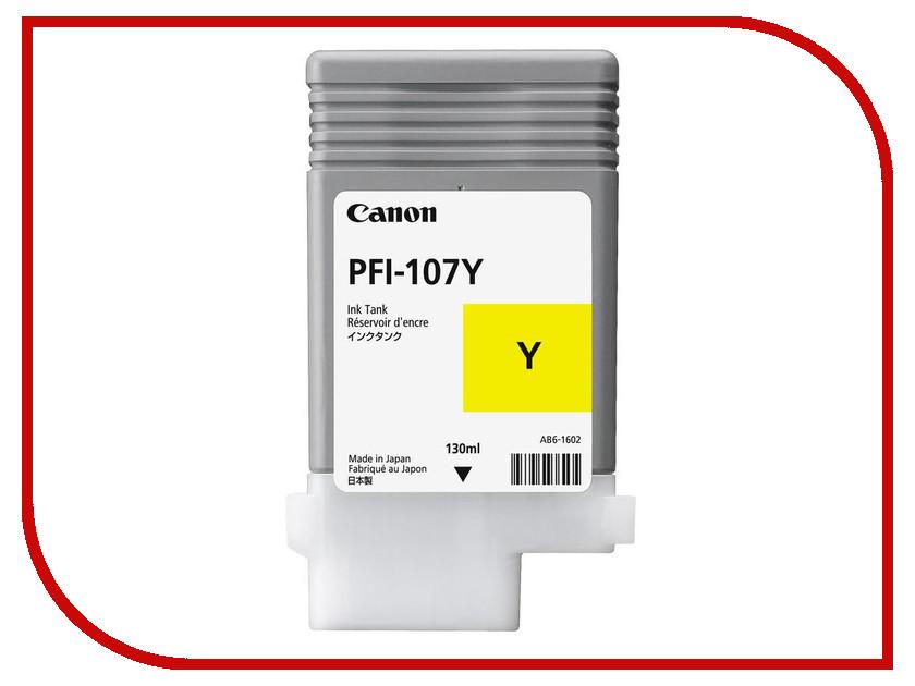 Картридж Canon PFI-107Y Yellow для iPF680/685/780/785 картридж canon red pfi 206r красный
