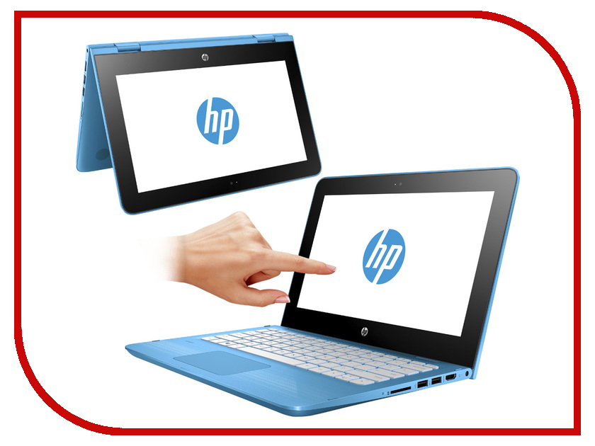 Ноутбук HP x360 11-ab011ur 1JL48EA (Intel Pentium N3710 1.6 GHz/4096Mb/500Gb/No ODD/Intel HD Graphics/Wi-Fi/Bluetooth/Cam/11.6/1366x768/Touchscreen/Windows 10 64-bit) hewlett packard hp лазерный мфу печать копирование сканирование