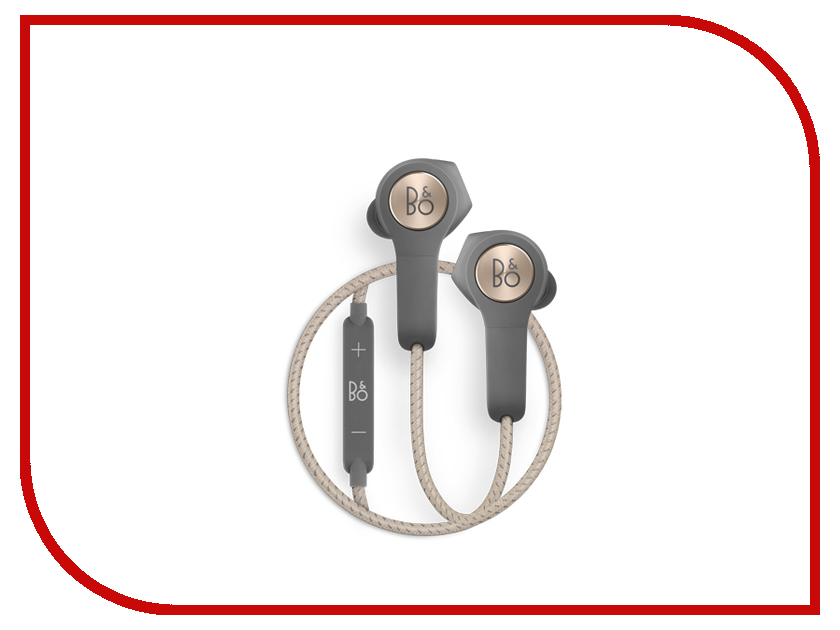 Гарнитура Bang & Olufsen BeoPlay H5 Charcoal Sand колонка bang & olufsen beoplay a2 active natural
