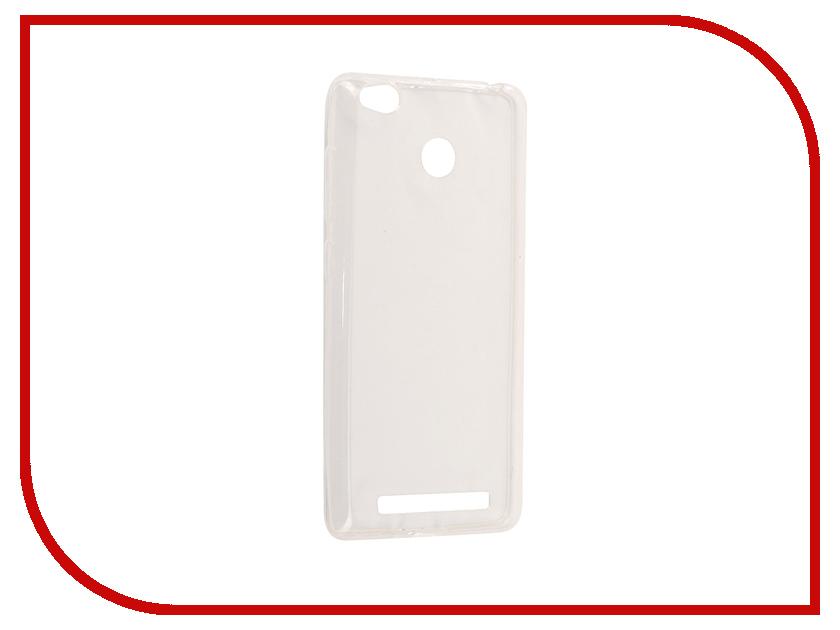 цена на Аксессуар Чехол Xiaomi Redmi 3S/3 Pro Aksberry Silicone 0.33mm Transparent