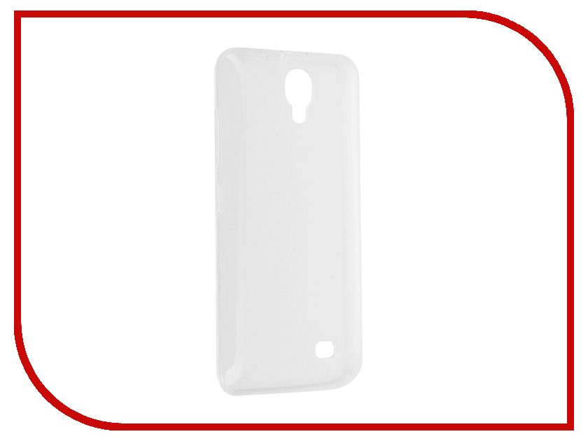 где купить  Аксессуар Чехол Micromax Q383 Aksberry Silicone Transparent 0.33mm  дешево