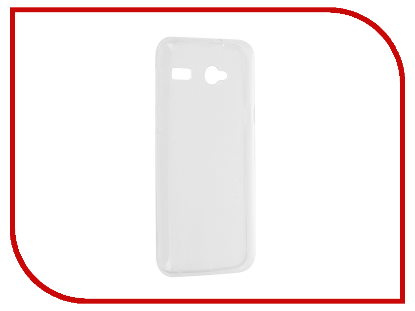 Аксессуар Чехол Micromax Q346 Aksberry Silicone Transparent 0.33mm