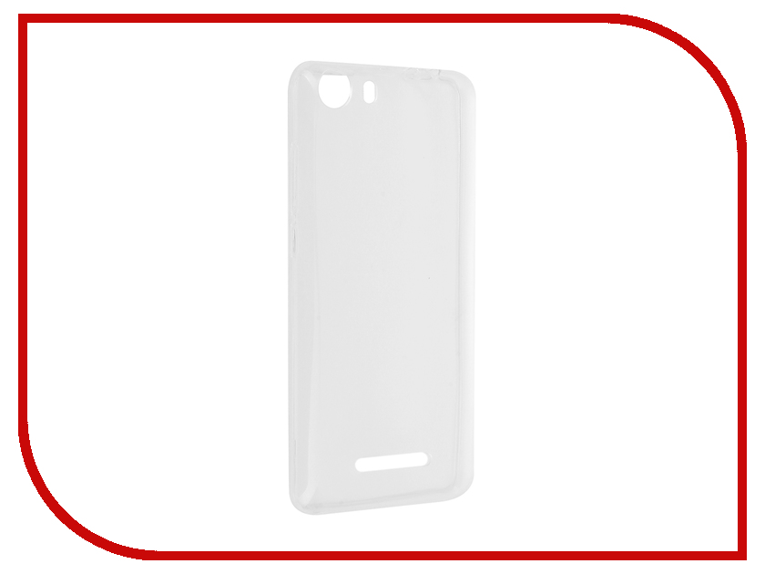 Аксессуар Чехол Micromax Q334 Aksberry Silicone Transparent 0.33mm