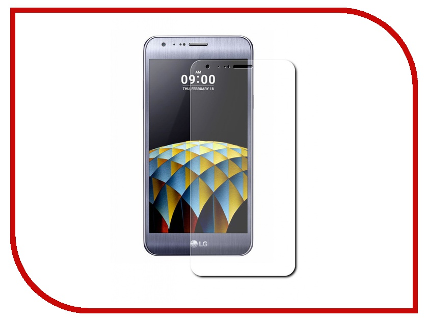Аксессуар Защитное стекло LG X Cam K580DS Aksberry