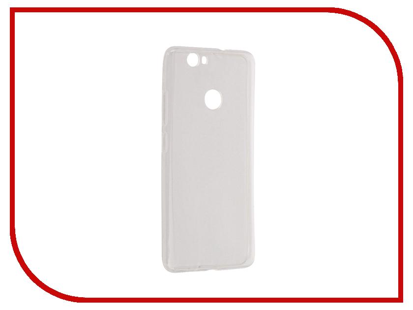 Аксессуар Чехол Huawei Nova Aksberry Silicone 0.33mm Transparent аксессуар чехол micromax q334 aksberry silicone transparent 0 33mm