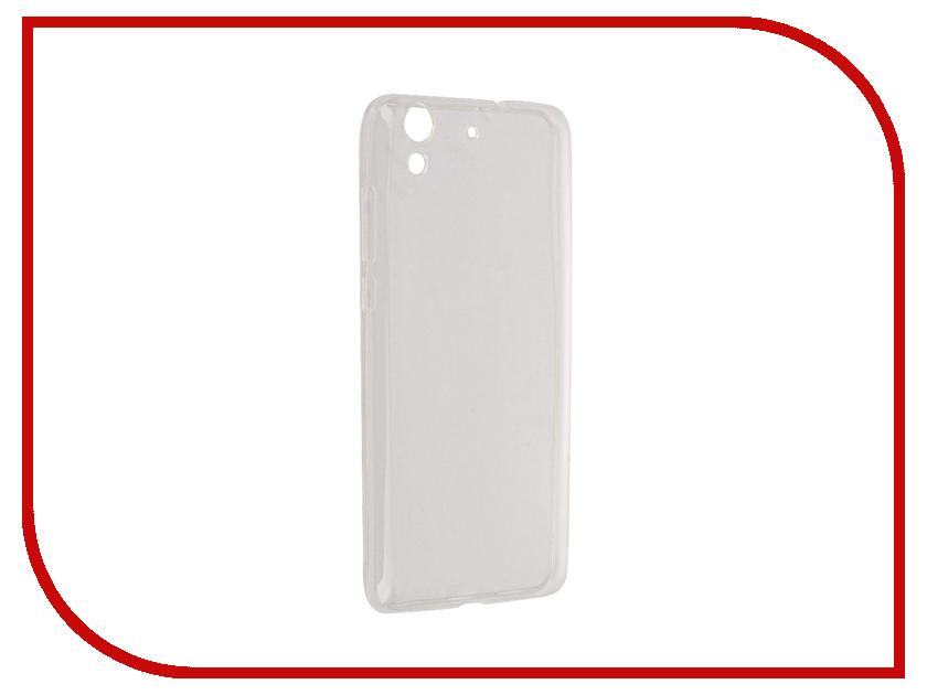 Аксессуар Чехол Huawei Y6 II Aksberry Silicone Transparent 0.33mm