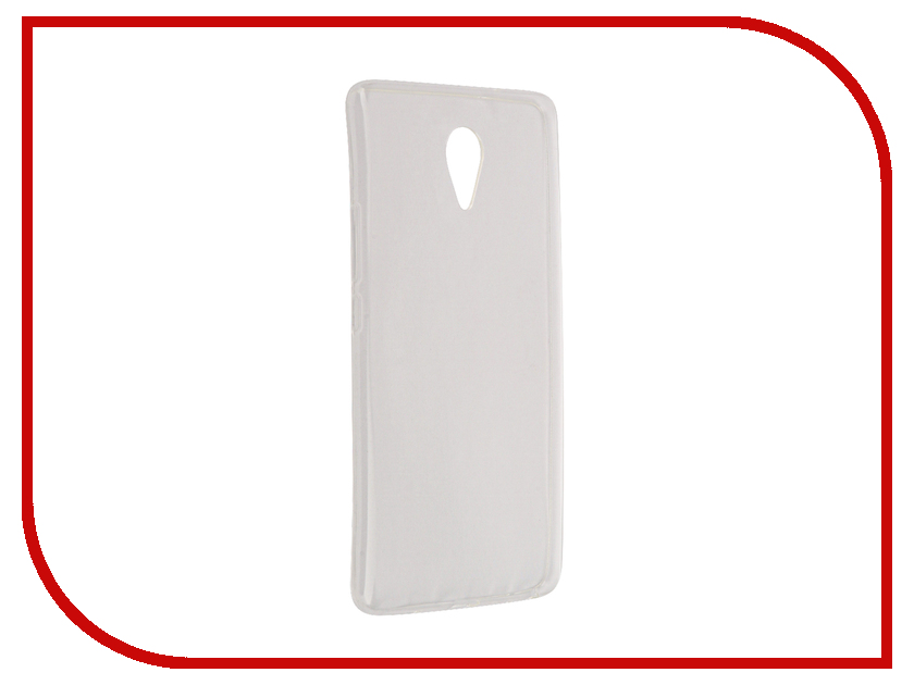 Аксессуар Чехол Meizu M3 Max Aksberry Silicone Transparent 0.33mm