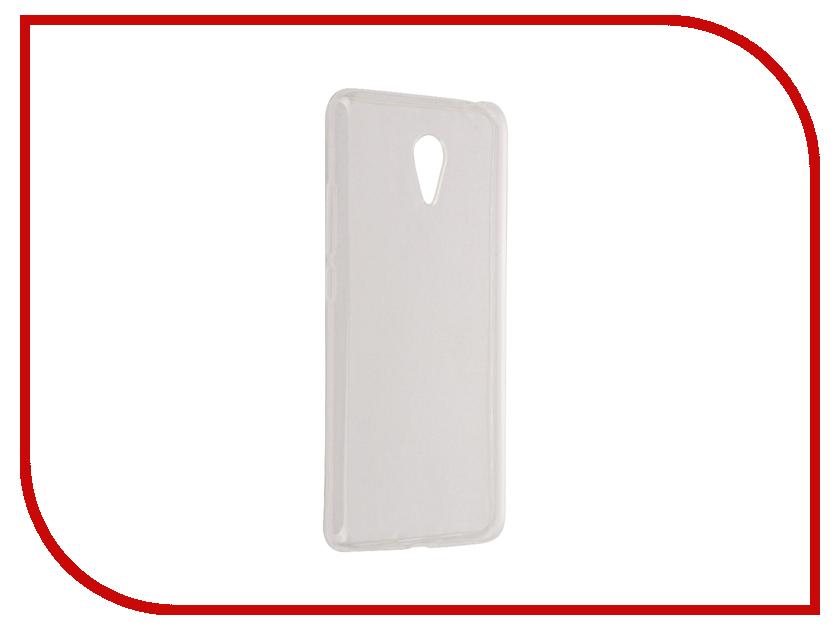 Аксессуар Чехол Meizu M3 Note Aksberry Silicone 0.33mm Transparent