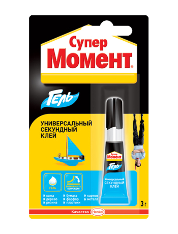 Клей Henkel Момент Супер гель 3g 622917