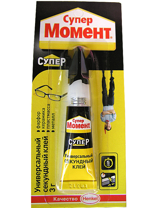 Клей Henkel Момент Супер 3g 608976