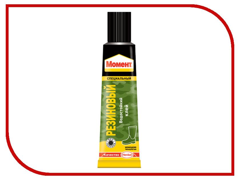 Клей Henkel Момент Резиновый 30ml 873074 монтажная пена момент монтаж pro pа750 всесезонная henkel 750мл