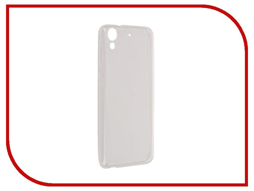 Аксессуар Чехол HTC 628 Aksberry Silicone Transparent 0.3mm