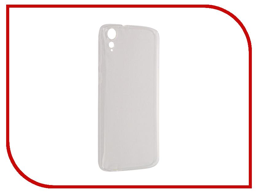 Аксессуар Чехол HTC 828 Aksberry Silicone Transparent 0.3mm аксессуар чехол micromax q334 aksberry silicone transparent 0 33mm