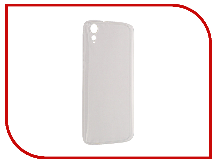Аксессуар Чехол HTC 828 Aksberry Silicone Transparent 0.3mm аксессуар чехол lg k410 430ds k10 3g lte aksberry black