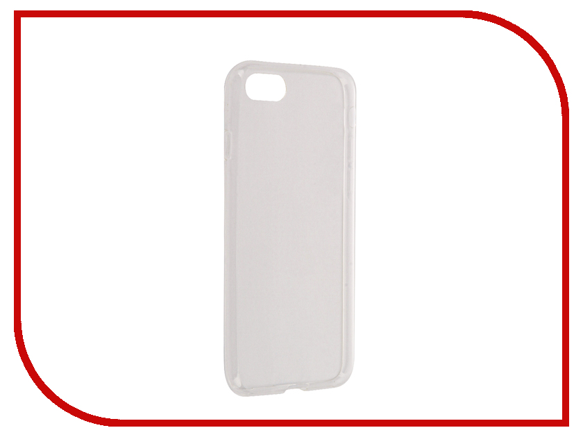 Аксессуар Чехол Aksberry Silicone 0.3mm для iPhone 7 Transparent аксессуар чехол аккумулятор aksberry 6pc 4000 mah для iphone 6 plus gold