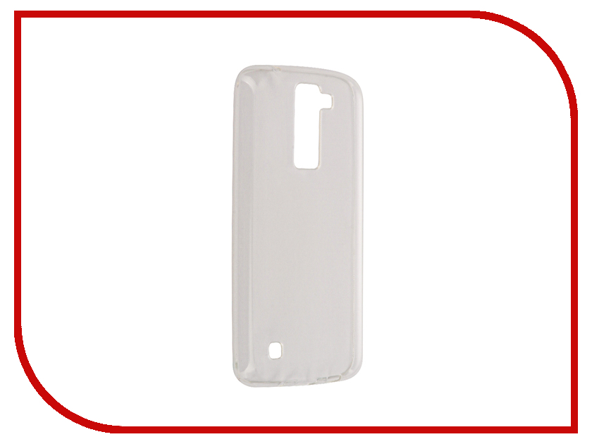 Аксессуар Чехол для LG K350E K8 Aksberry Silicone Transparent 0.3mm