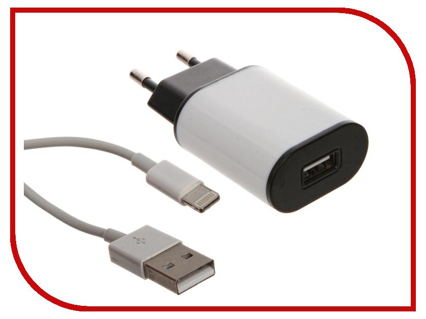Зарядное устройство Aksberry 8-pin для iPhone 5 сетевое