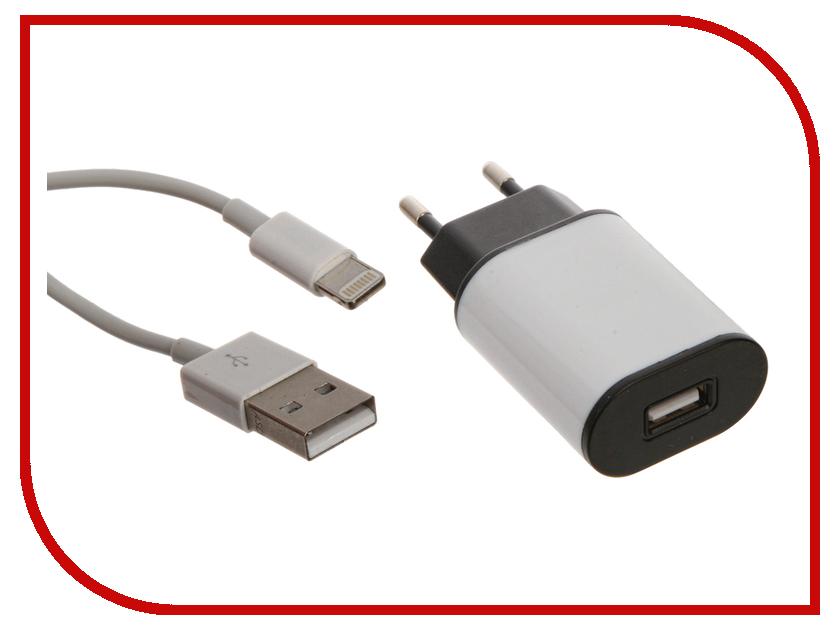Зарядное устройство Aksberry 8-pin 2.1A для iPhone 5 сетевое