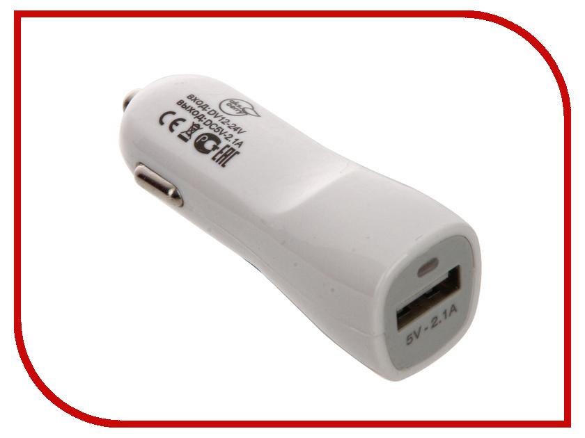 Зарядное устройство Aksberry USB 2.1A автомобильное